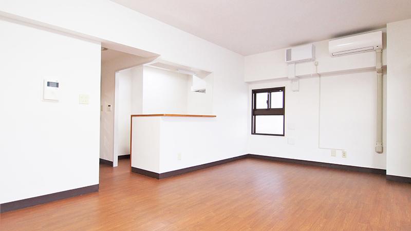リフォーム完了した室内のイメージ